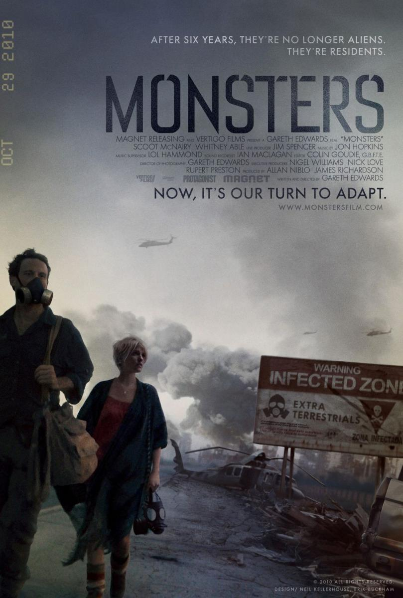 Monsters (2010) Online Latino