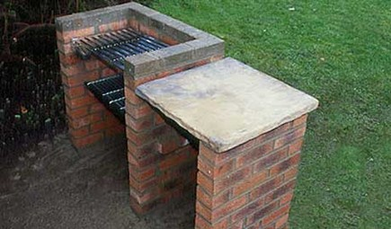 Brick Barbecue Pictures2