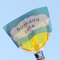 Birthday Cake Lollipops