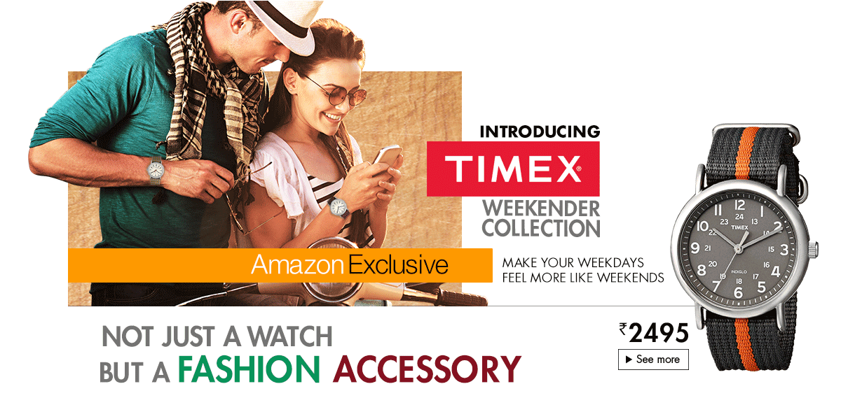 TIMEX Weekend Collection