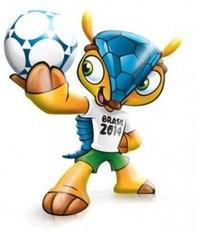 A FIFA patenteou o Tatu-Bola como mascote da Copa do Mundo de 2014