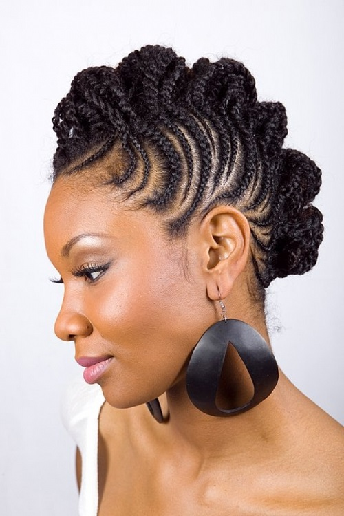 Edgy Hairstyles for Black Women 2013