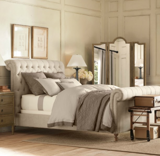 Vintage chic: Inspirasjon: soverom/ Inspirational bedrooms