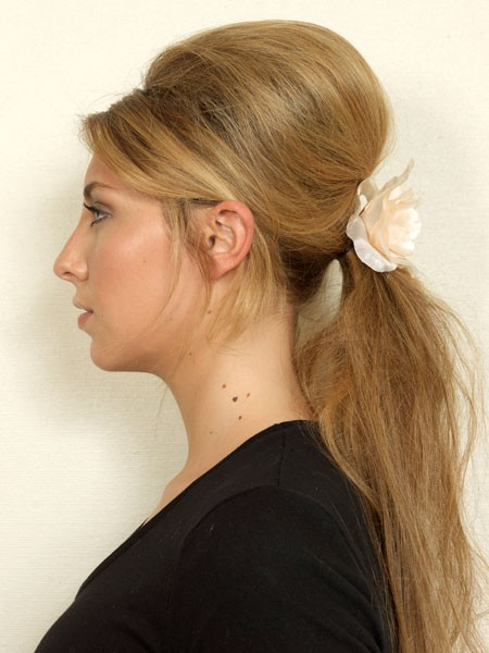 Hair Extensions Types 60 S Famous Beehive Ponytail