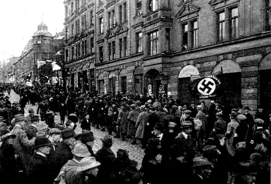 munich putsch 1923 It failed to support government during the kapp putsch or the crisis of 1923 hitler's nazis tried to take control of bavaria (the munich putsch.