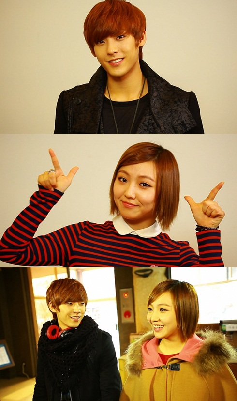 Min Miss A & Minhyuk BTOB 'Reckless Family 2'