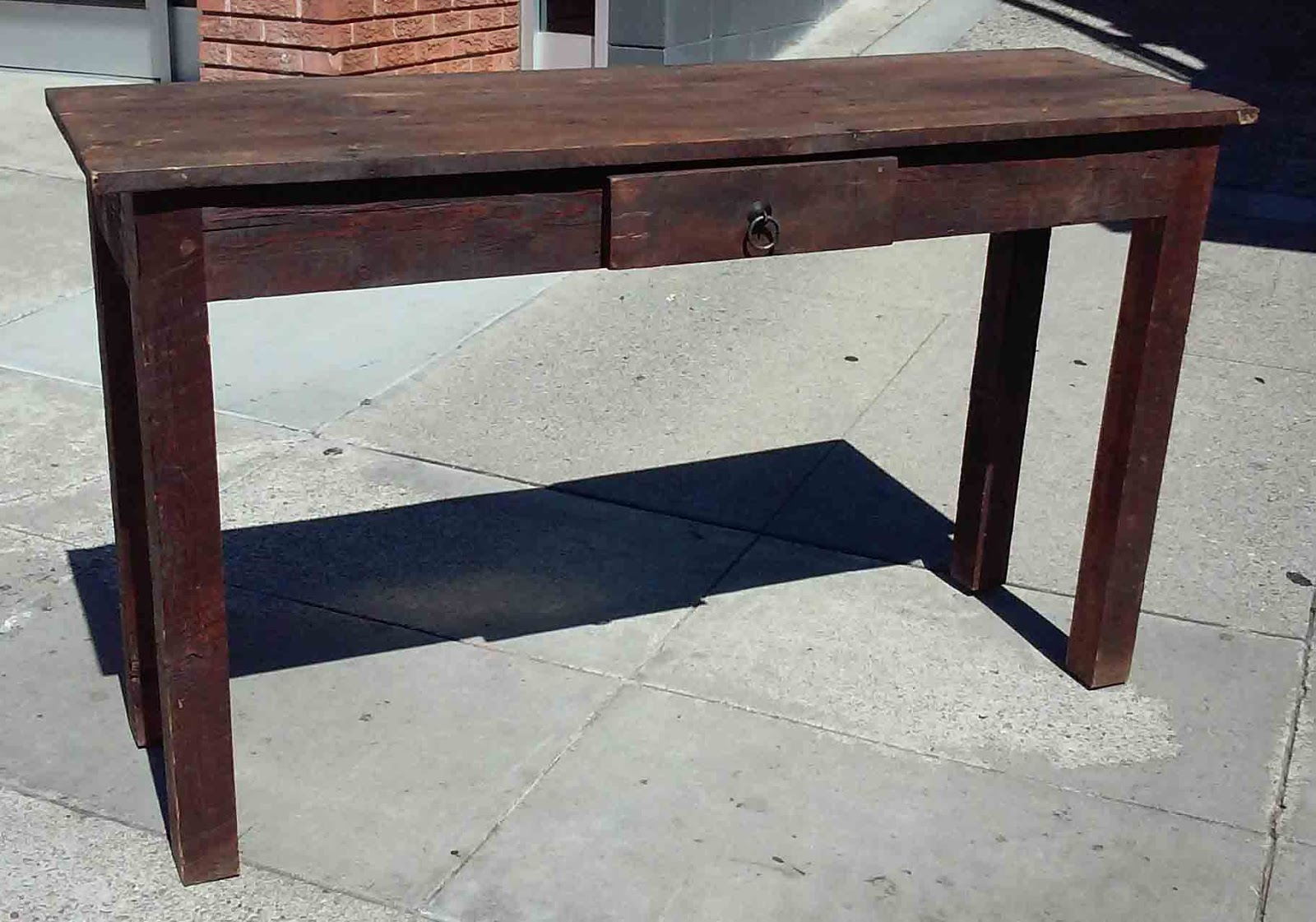Uhuru furniture collectibles sold antique oak sofa for 65 sofa table