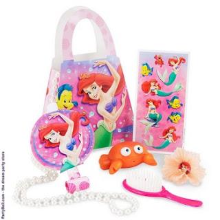 Disney The Little Mermaid Party Favor Purse