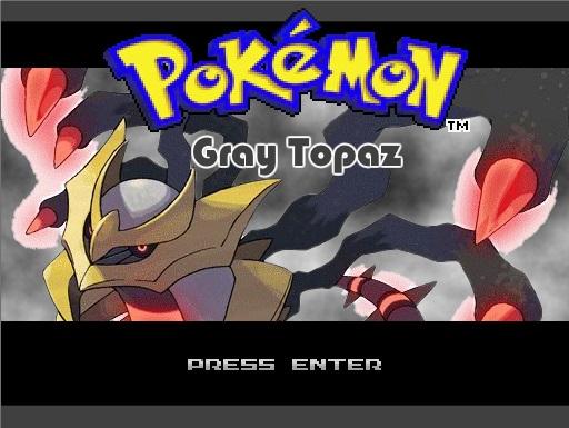 Pokemon Gray Topaz