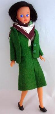 Muñeca de azafata de compañía de vuelo Transavia.com