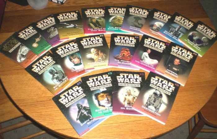 how many books of star wars are there