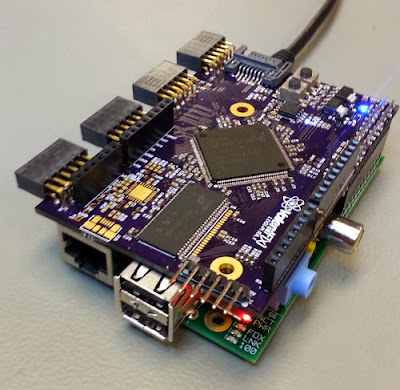 Placa de expansão FPGA Logi-pi