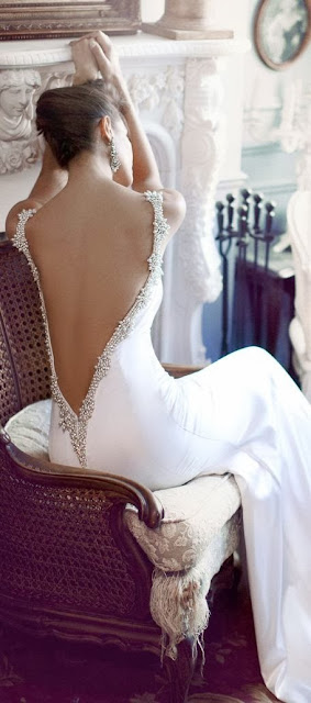 Open Back White Dress, I Love It