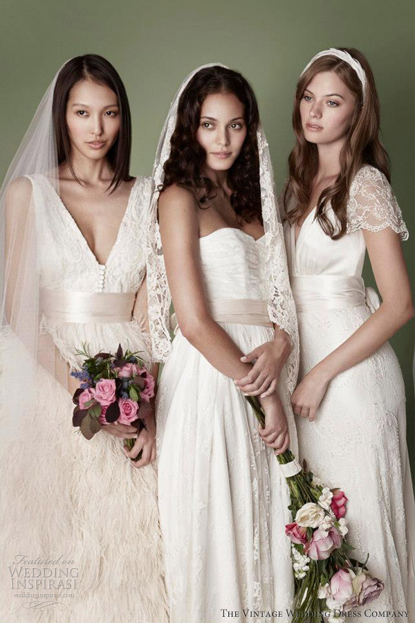 Wedding Dress Vintage Collection : Treasurous collectibles vintage wedding gowns