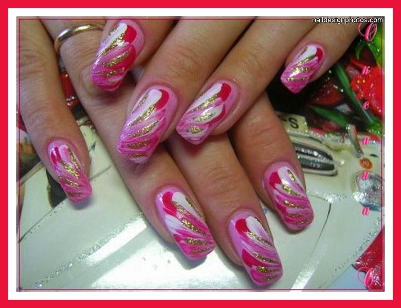 Cute Toenail Designs Applying Cute Pink Nail Designs