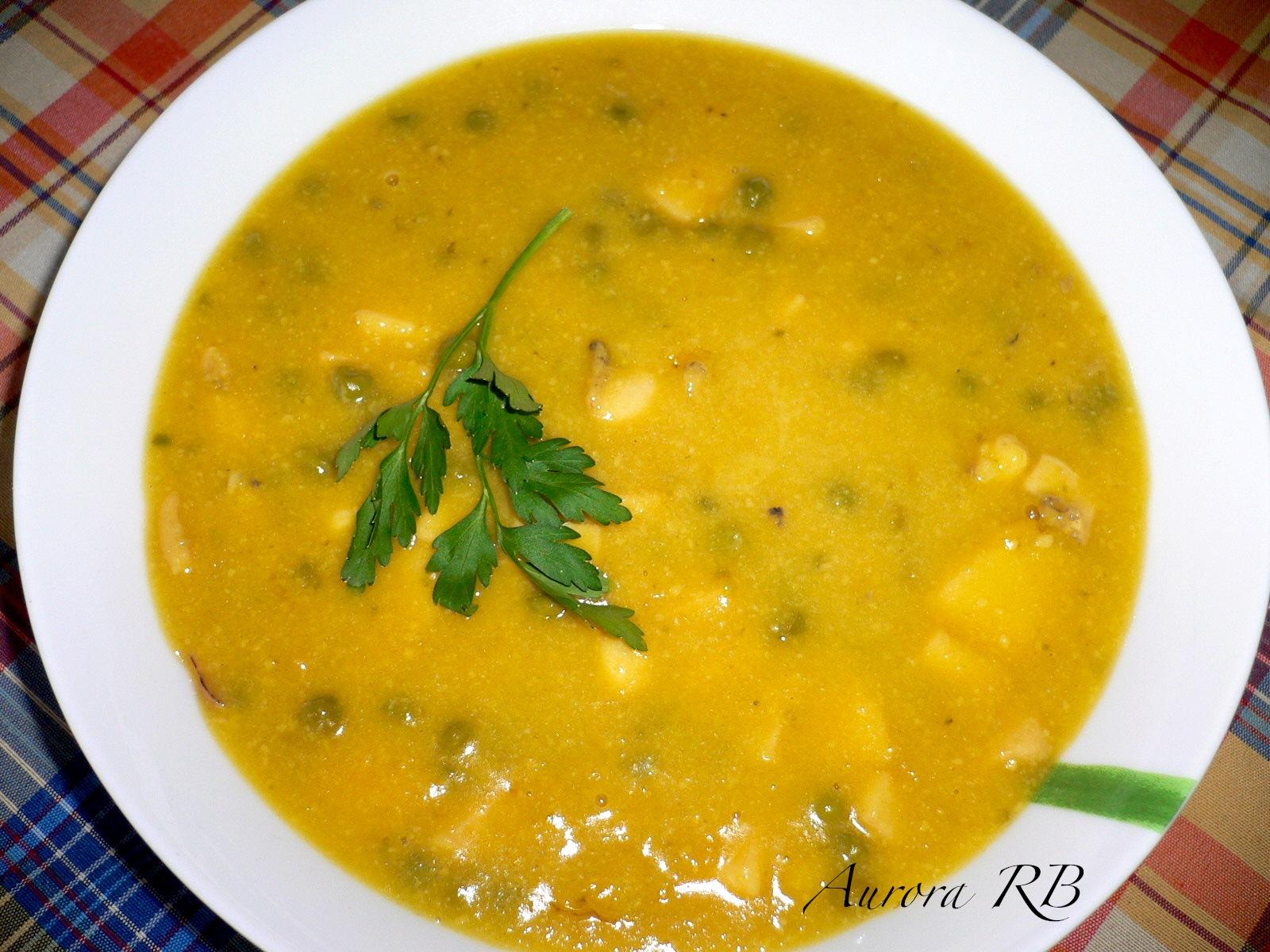 Las recetas de aurora jibia en salsa de almendras i - Salsa para bogavante cocido ...