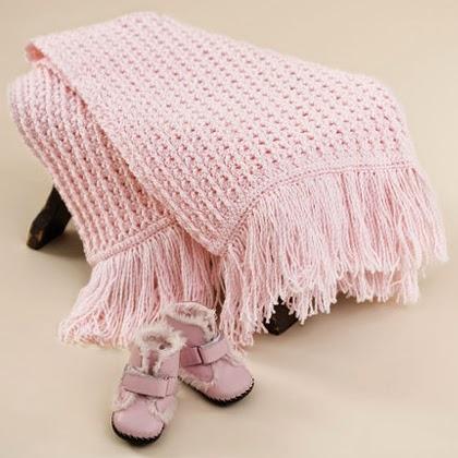 Crochet Sweet Baby Blankie