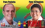 Vereadora Izabel Pimentel 65165 Prefeito Makhoul Moussallem 13