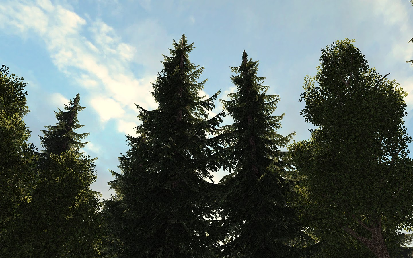 More Trees Marquis Houghton Environment Artist