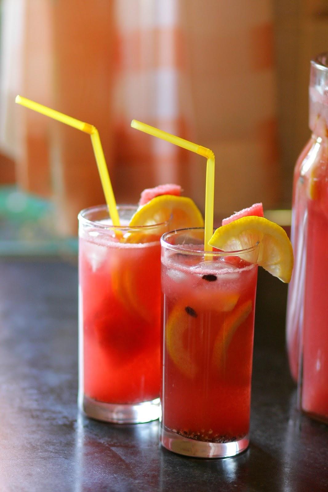 Арбузный лимонад с базиликом рецепт детское меню: напитки