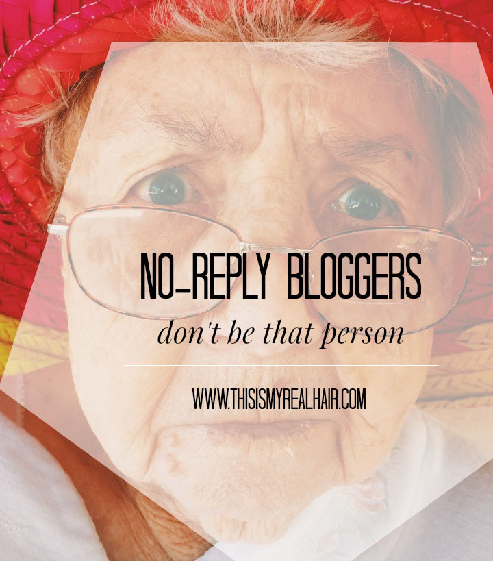 No Reply Bloggers