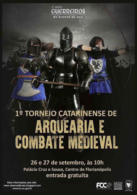 Combate Medieval no Brasil não é o passado: é o presente rumo ao futuro