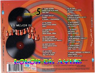 cd 5 nueva ola chilena ATRASCD5