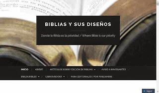 Blog de Biblias Y SUS DISEÑOS