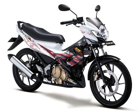 Pin Suzuki Satria Fu 150 Wild Drag on Pinterest