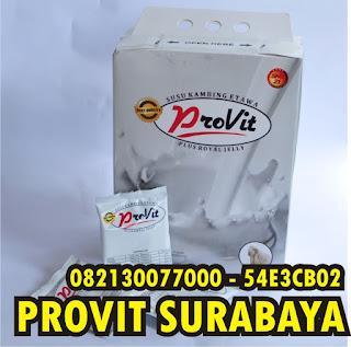 Susu Provit Surabaya - Jual susu provit untuk Surabaya dan sekitarnya dengan harga promo selamanya. Harga termurah layanan ramah hanya di www.provit.co.id  Kami adalah agen resmi sns21 yang menjual susu kambing etawa plus royal jelly. Dipercaya oleh konsumen dan pelanggan kami selama bertahun - tahun mensuplai kebutuhan susu provit guna memenuhi kebutuhan pelanggan kami.