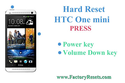 Hard Reset HTC One mini