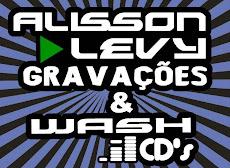 ALISSON LEVY GRAVAÇÕES & WASH CDS