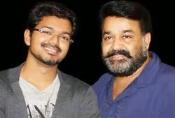 Mohanlal hesitates to dance with Vijay