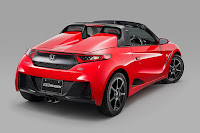 Honda S660 (Mugen RA Prototype) (2015) Rear Side