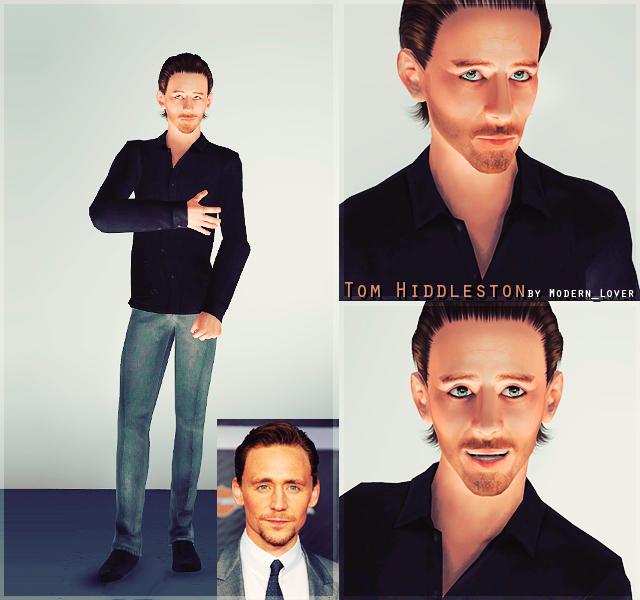 Tom Hiddleston sim