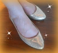 Jenni's sparkle shoes