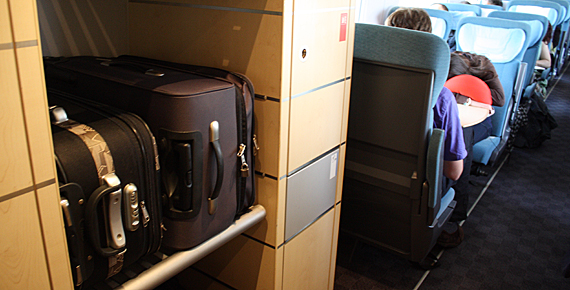 Malas e bagagem nos trens da Europa