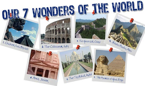 7 wonders of the world images free download. All World Wonders