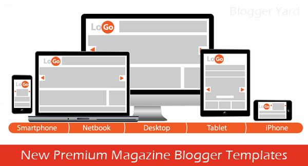 20 Best Premium Magazine Blogger Templates of 2014