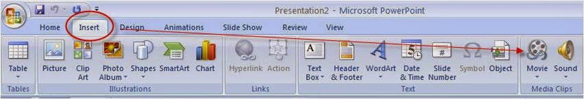 embed mp4 in powerpoint 2007 MP4 &PowerPoint workflow  How to Insert MP4 into PowerPoint?