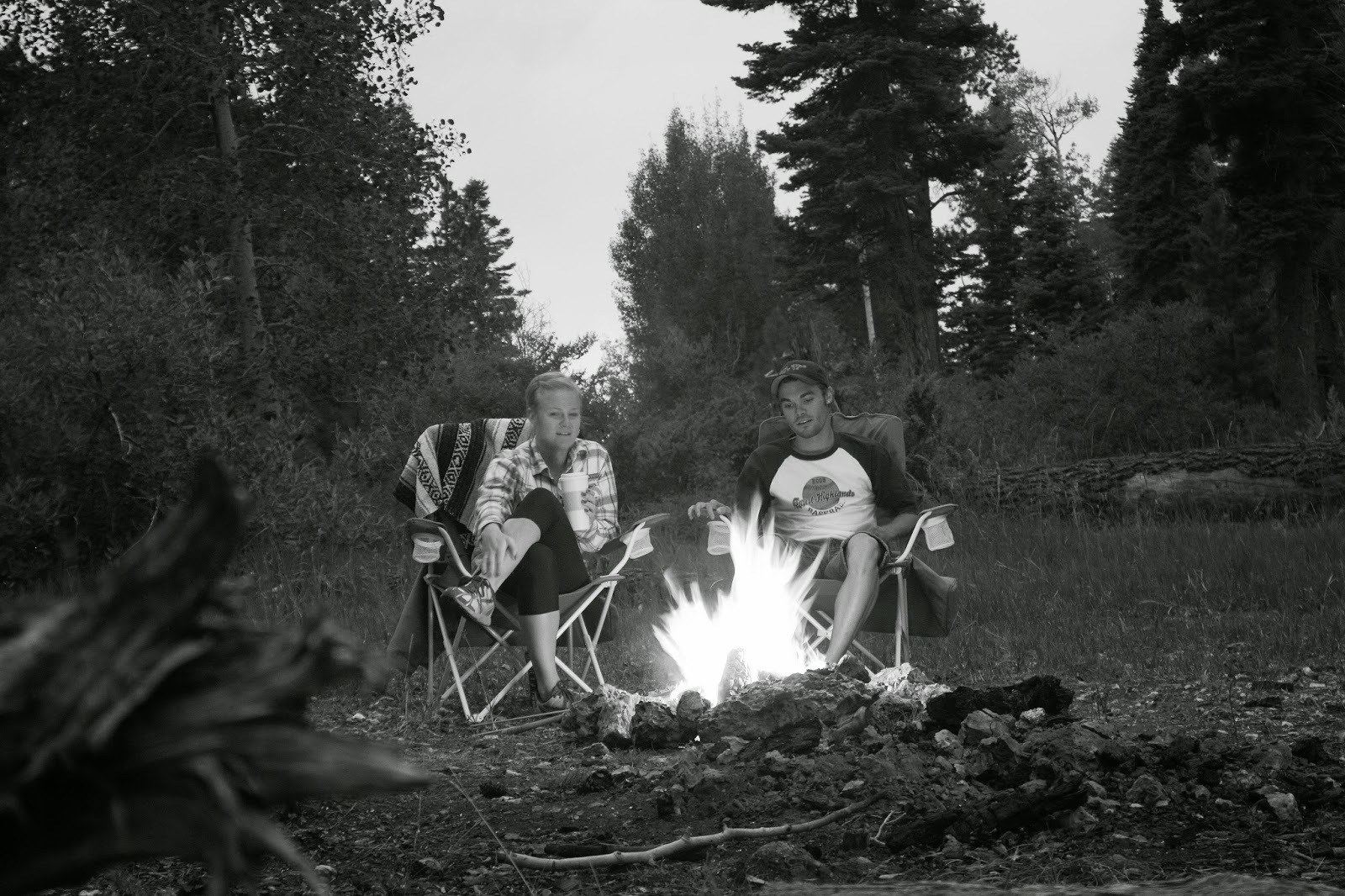 Grand Canyon North Rim Campfire