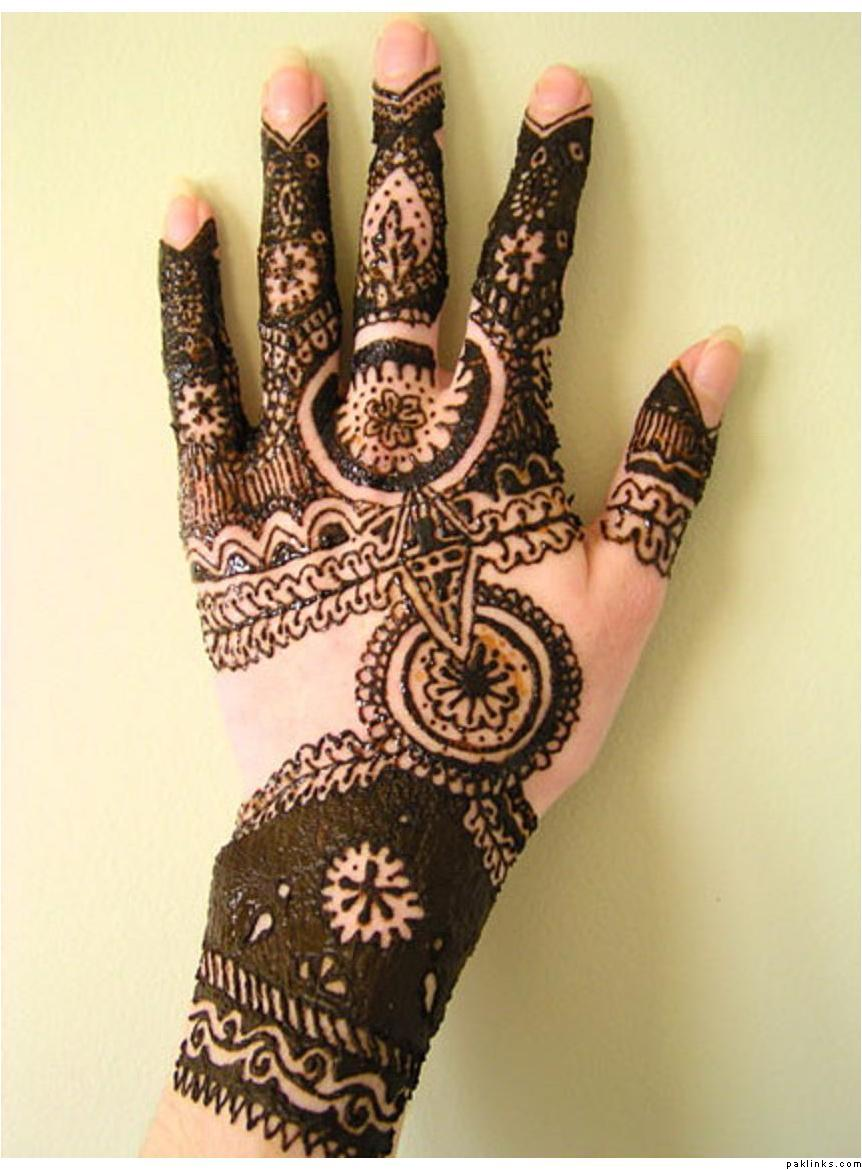 Henna Tattoo Designs: Indian Sudani Eid Wedding Chand Raat Bridal ...