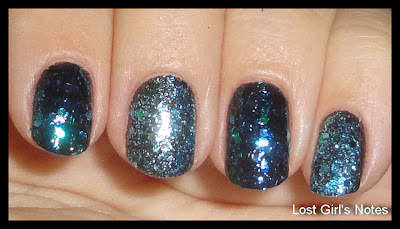 deborah lippmenn across the universe and revlon blue mosaic comparison