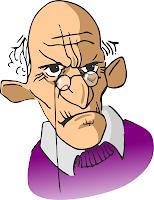 Confidential Unrestricted MalarkeyGrumpy Old Man Cartoon Face