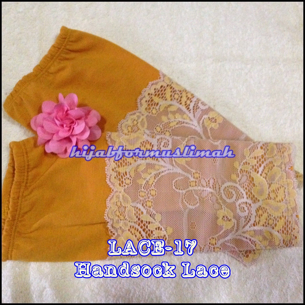 handsock cotton lace