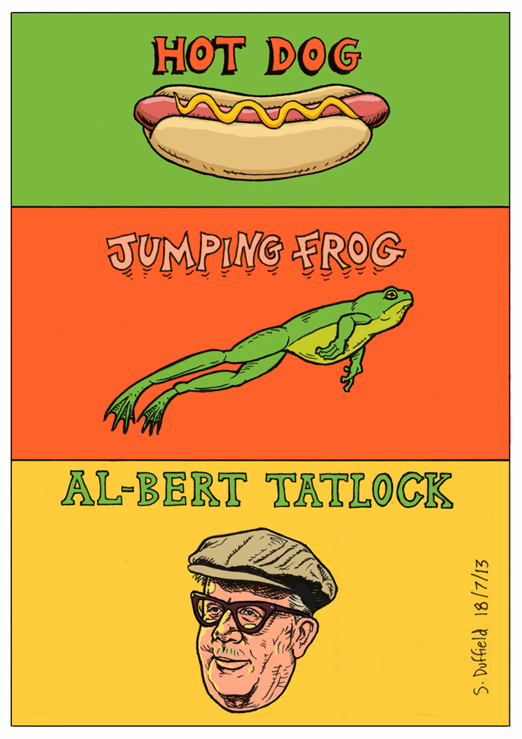 Lyrics Hot Dog Jumping Frog Albuquerque