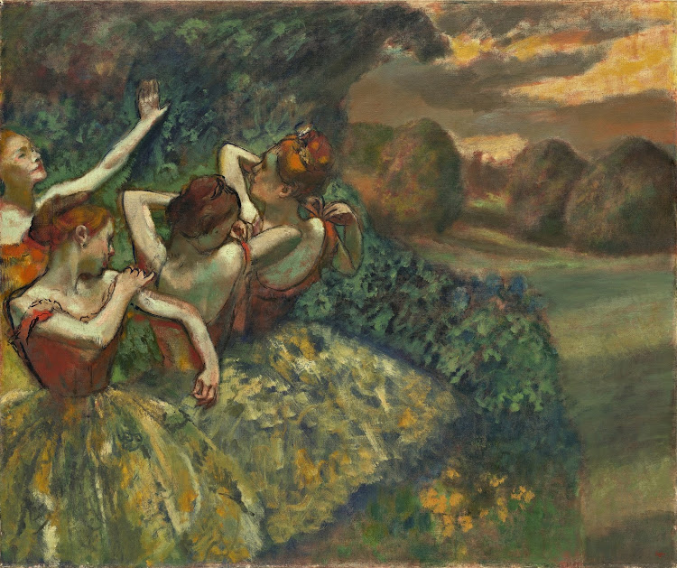 Edgar Degas - Four Dancers (1899)