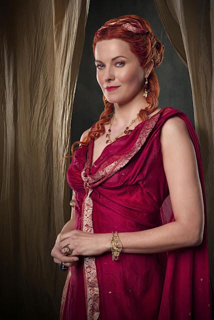 Lucy Lawless: Lucretia Spartacus