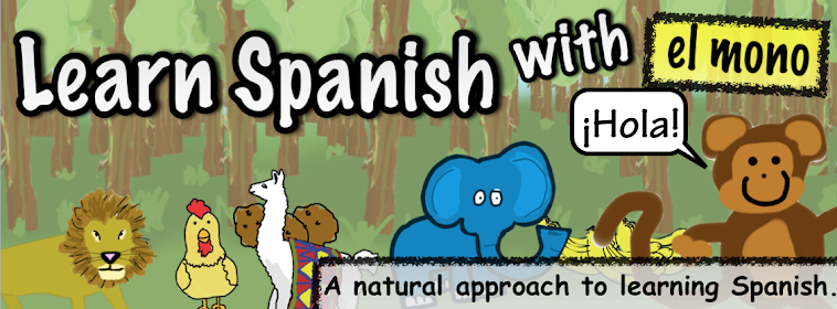 Learn Spanish with el mono