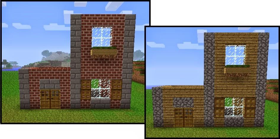 Как построить самые красивые дома в minecraft